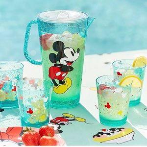 Mickey & Minnie Mouse Pitcher Set